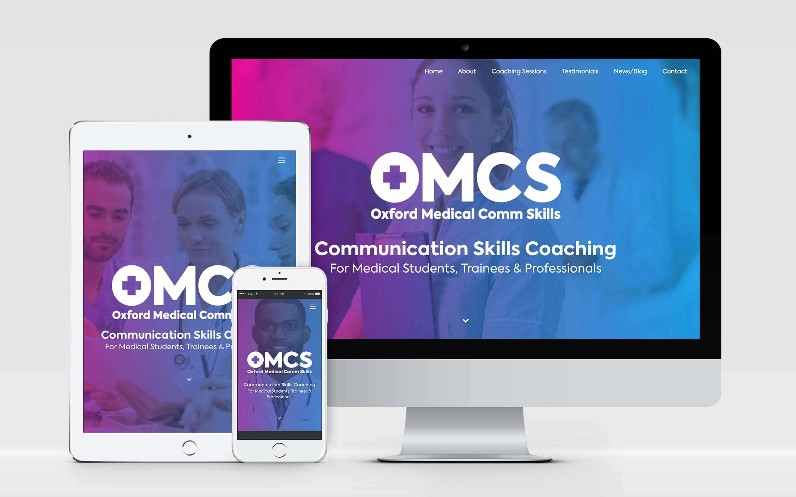 AW Design - website design & graphic design for OMCS